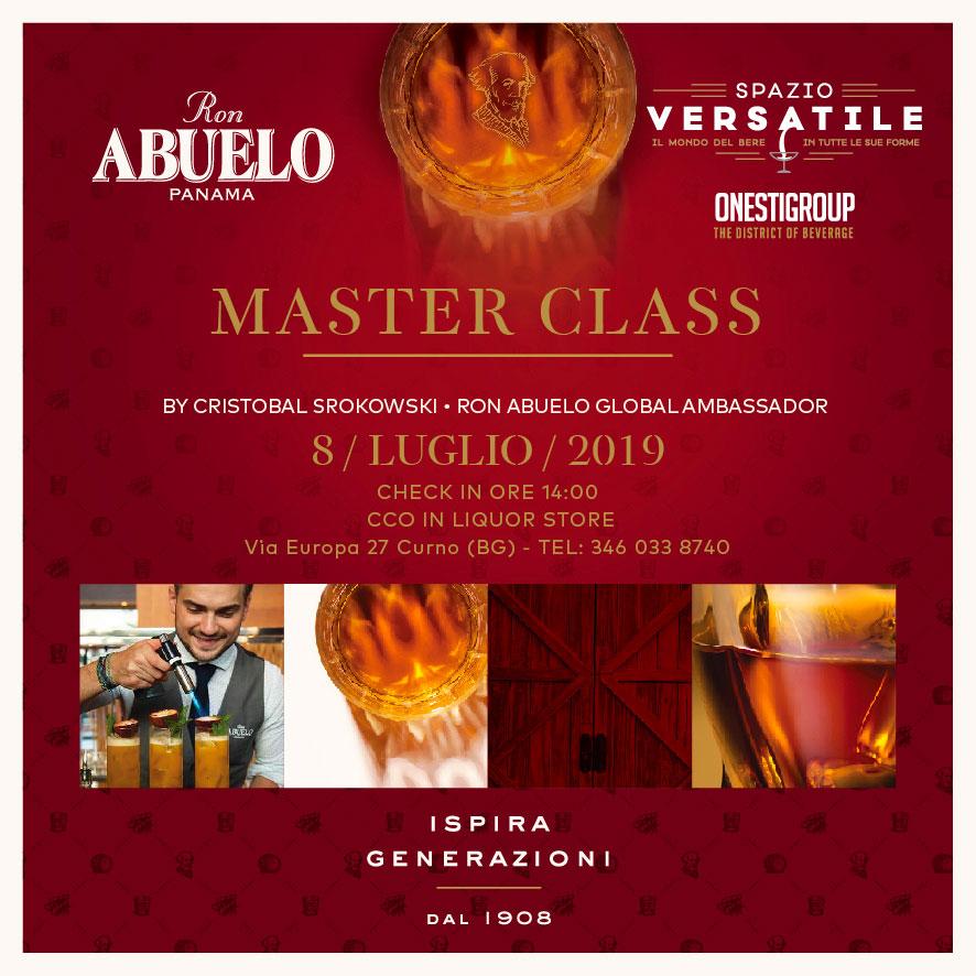 master class ron abuelo