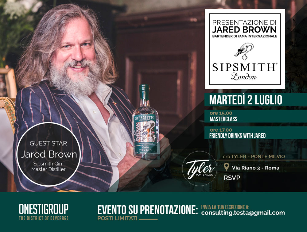 jared brown sipsmith