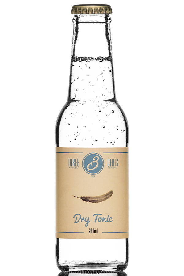 DRY TONIC WATER – THREE CENTS