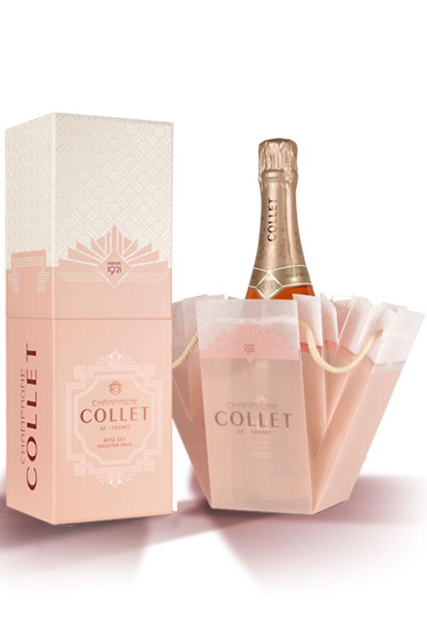 Champagne Rosé Dry Privée Collet